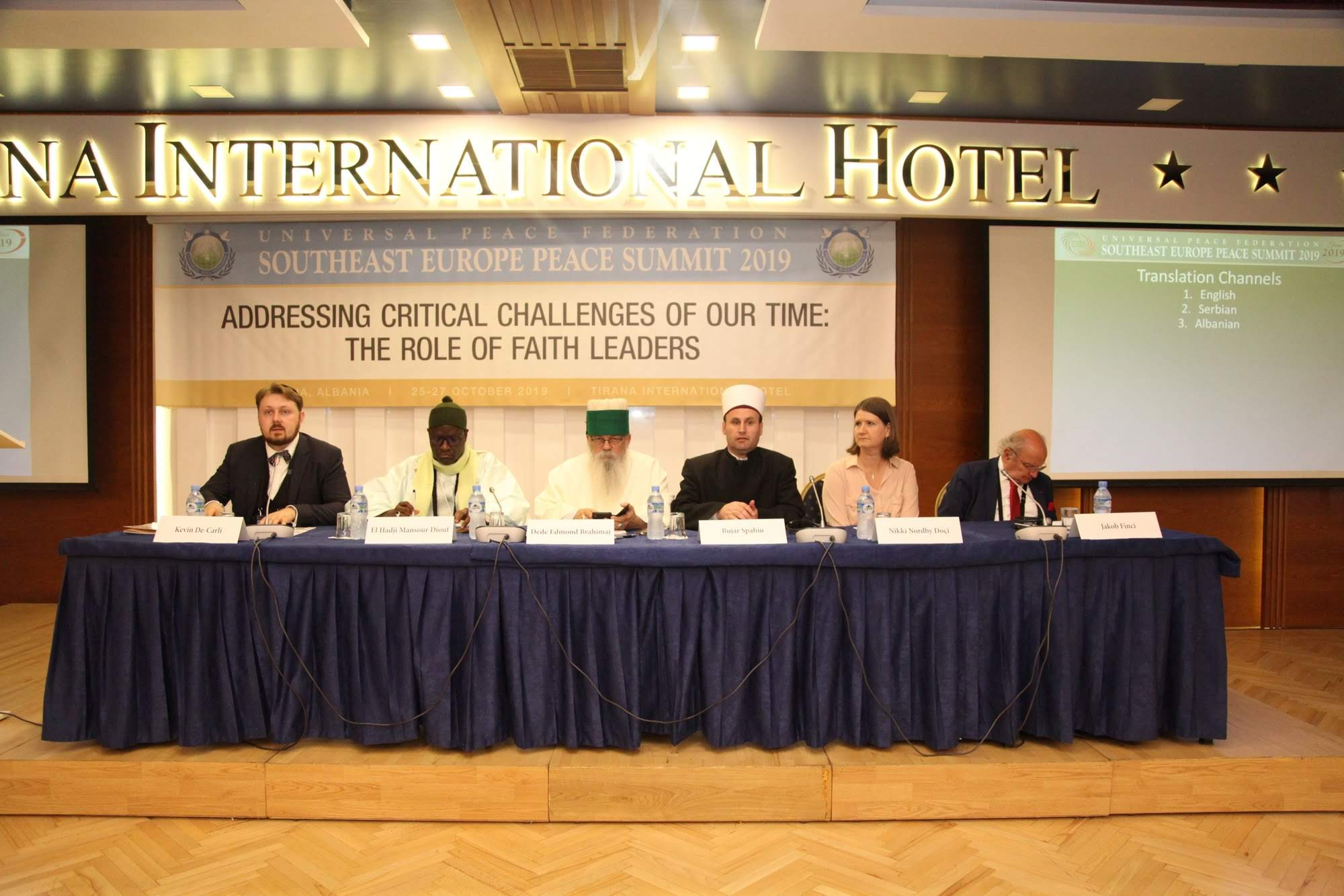 "Session IIIB discussed the ""Role of Faith Leaders in Addressing the Critical Challenges of our Time""."