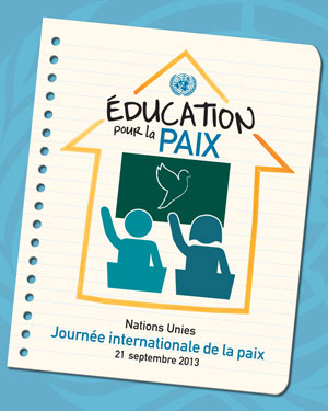 Journée internationale de la paix 2013